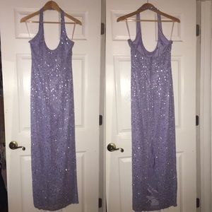 Dresses & Skirts - Periwinkle sparkly prom dress